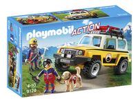 Playmobil Action 9128 Reddingswerkers met terreinwagen