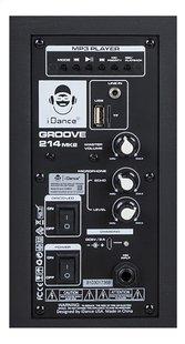 iDance Luidspreker bluetooth Groove 214 zwart-Achteraanzicht
