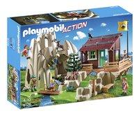 Playmobil Action 9126 Rocher d'escalade avec espace d'accueil