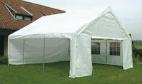 Tente de réception robuste en polyéthylène 6 x 6 m-Image 1
