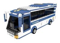 Nanostars Real Madrid Bus d'équipe-Avant