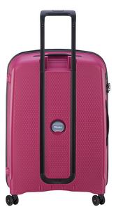 Delsey harde reistrolley Belmont Plus roze 55 cm-Achteraanzicht