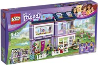 LEGO Friends 41095 Emma's huis-Linkerzijde