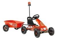 EXIT gocart Foxy Fire + aanhangwagen-Linkerzijde