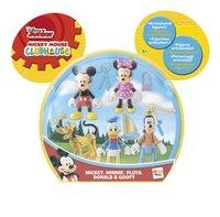 Figurine La Maison de Mickey Pack de 5