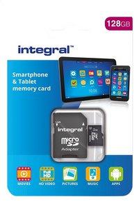 Integral geheugenkaart microSDXC + adapter 128 GB-Vooraanzicht