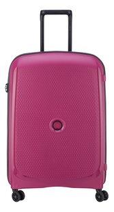 Delsey harde reistrolley Belmont Plus roze 55 cm-Vooraanzicht