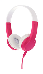 Casque Buddyphones Explore rose/blanc