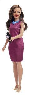 Barbie mannequinpop Careers Reporter-commercieel beeld