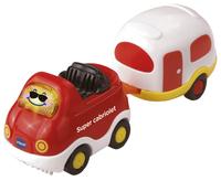 VTech Tut Tut Bolides Timothée super cabriolet et sa caravane
