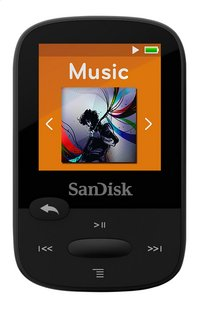 SanDisk lecteur MP3 Sansa Clip Sport 8 Go noir-Avant