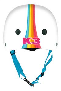 Skatehelm K3-Achteraanzicht