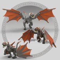 MEGA Construx Game of Thrones Drogon-Artikeldetail