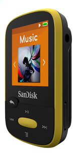 SanDisk lecteur MP3 Sansa Clip Sport 8 Go jaune-Côté droit