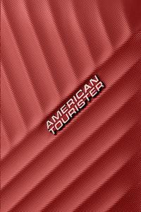 American Tourister Harde reistrolley Visby Spinner energetic red 76 cm-Artikeldetail