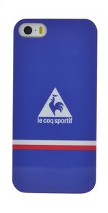 bigben coque Le coq sportif pour iPhone SE/5/5s bleu-Avant