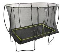 EXIT ensemble trampoline Silhouette L 3,66 x Lg 2,44 m noir-Vue du haut
