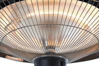 Sunred Elektrische hangende terrasverwarmer Mushroom 1500 W koper-Artikeldetail