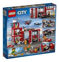 LEGO City 60215 La caserne de pompiers-Arrière
