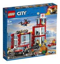 LEGO City 60215 La caserne de pompiers-Côté gauche