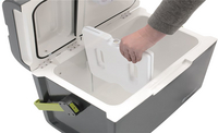 Outwell thermo-elektrische koelbox ECOcool Slate Grey 35 l-Artikeldetail