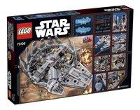 LEGO Star Wars 75105 Millennium Falcon-Achteraanzicht