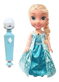 Poupée Disney La Reine des Neiges My First Toddler Sing a long Elsa avec micro