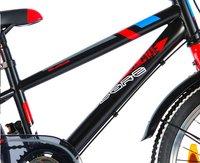 Volare kinderfiets Blade Nexus 3 zwart/rood 20/-Artikeldetail