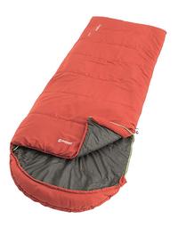 Outwell sac de couchage Campion Lux Red-Côté droit