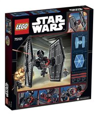 LEGO Star Wars 75101 First Order Special Forces TIE fighter-Achteraanzicht