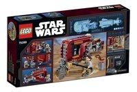 LEGO Star Wars 75099 Rey's Speeder-Achteraanzicht