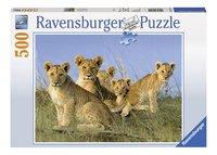 Ravensburger puzzel Leeuwenwelpen-Vooraanzicht