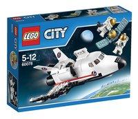 LEGO City 60078 Space Shuttle hulpvoertuig