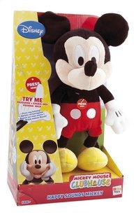 Peluche La Maison de Mickey Mickey Happy Sounds 33 cm-Côté gauche
