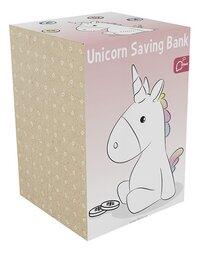 Spaarpot Dhink Unicorn-Linkerzijde