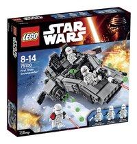 LEGO Star Wars 75100 First Order Snowspeeder-commercieel beeld