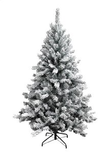 Sapin de Noël enneigé 210 cm