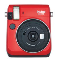Fujifilm appareil photo instax mini 70 rouge