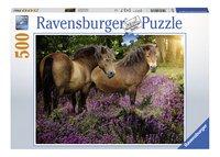 Ravensburger puzzel Pony's tussen de hei-Vooraanzicht
