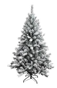 Sapin de Noël enneigé 225 cm