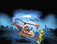 PLAYMOBIL Ghostbusters 9385 Venkman avec hélicoptère-Image 1
