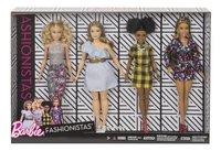 Barbie 4 poupées mannequin s Fashionistas-Avant