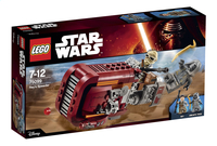 LEGO Star Wars 75099 Rey's Speeder-Linkerzijde