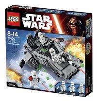 LEGO Star Wars 75100 First Order Snowspeeder-Côté droit