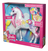 Barbie Dreamtopia Brush'n Sparkle unicorn-Rechterzijde