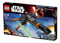 LEGO Star Wars 75102 Poe's X-Wing Fighter-Côté droit