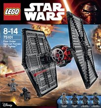 LEGO Star Wars 75101 First Order Special Forces TIE fighter-Détail de l'article