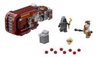 LEGO Star Wars 75099 Rey's Speeder-Vooraanzicht
