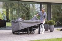 Outdoor Covers Premium beschermhoes voor tuinset L 165 x B 135 x H 95 cm polypropyleen-Afbeelding 3