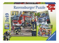 Ravensburger Puzzel 3-in-1 Helpers in nood